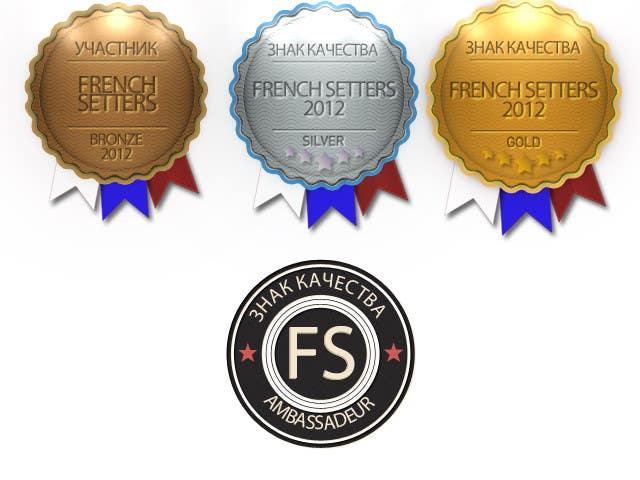 Penyertaan Peraduan #                                        3                                      untuk                                         2 badges to design with small variations