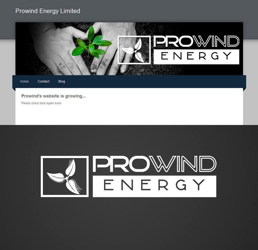Contest Entry #                                        246                                      for                                         Logo Design for www.prowindenergy.com