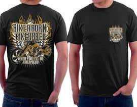 simrks tarafından AMAZING Tshirt Art Needed for Motorcycle Apparel Company için no 74