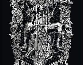 sawokecik28 tarafından AMAZING Tshirt Art Needed for Motorcycle Apparel Company için no 114