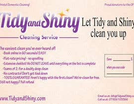 #6 untuk Design a Flyer for Tidy and Shiny (cleaning company) oleh androidianrey
