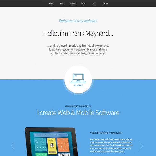 #1 for Designa a website model. by mizanurrahman20