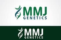 Graphic Design Inscrição do Concurso Nº55 para Graphic Design Logo for MMJ Genetics and mmjgenetics.com