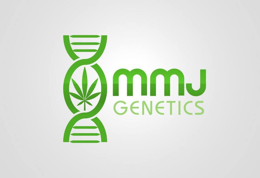 Конкурсная заявка №68 для Graphic Design Logo for MMJ Genetics and mmjgenetics.com