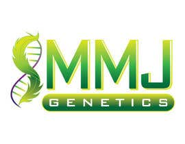 RACKandSTACK tarafından Graphic Design Logo for MMJ Genetics and mmjgenetics.com için no 51