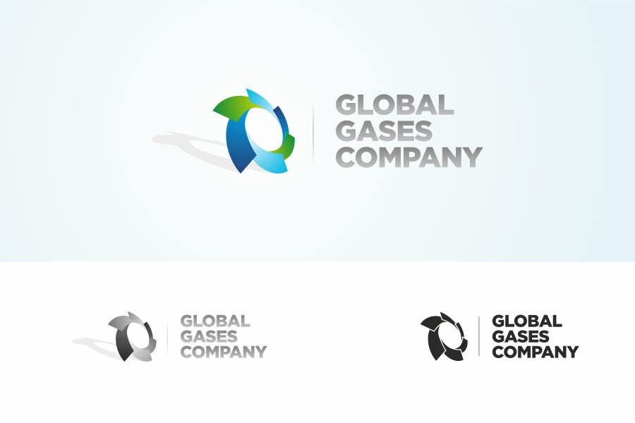 Penyertaan Peraduan #                                        132                                      untuk                                         Logo Design for Global Gases Company