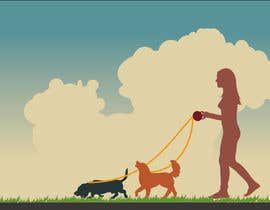 #2 para Illustrate Something for dog walking company por fetra08