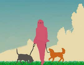 #9 para Illustrate Something for dog walking company por sumitshetty