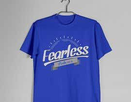 #55 for Design a T-Shirt - Fearless - Psalm 34:4 by karenli9