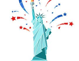 #15 for Create July 4th Themed Vector Art by BuiNhatVi