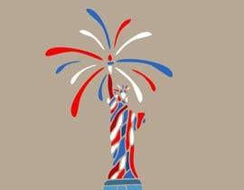Nro 62 kilpailuun Create July 4th Themed Vector Art käyttäjältä BellaMontenegro