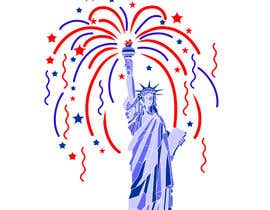 #66 for Create July 4th Themed Vector Art by koeswandi