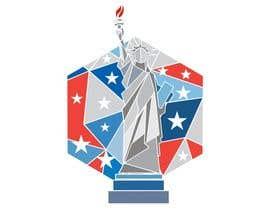 Nro 38 kilpailuun Create July 4th Themed Vector Art käyttäjältä rosarioleko06