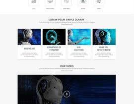 creative223 tarafından Need A Custom Homepage Design (Winner will get the rest of the job) için no 48
