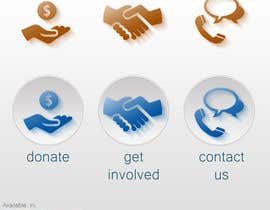 Nro 64 kilpailuun 3 Icons for Charity Website käyttäjältä Valdz