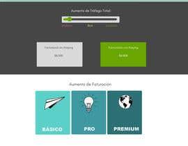 Nro 15 kilpailuun Diseño de página de Retorno de Inversión de un Software para hotel käyttäjältä dezangrande