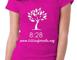 nº 28 pour Lillie's Friends Foundation Adult T-Shirt Design par logodancer