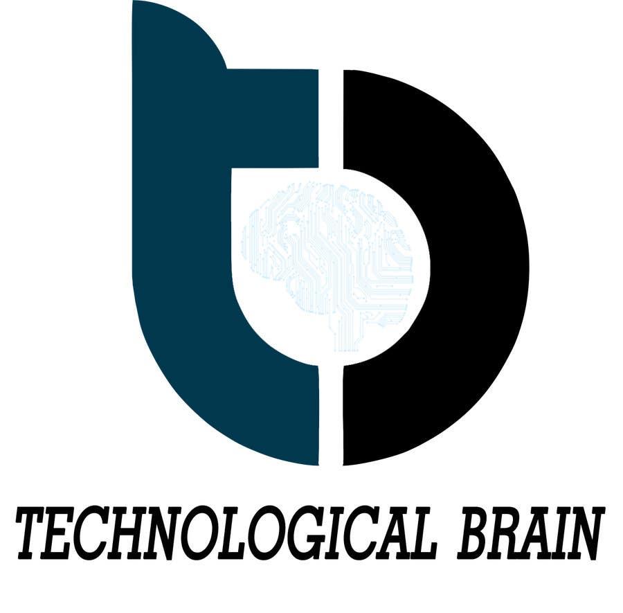 Kilpailutyö #19 kilpailussa Projetar Logo da empresa Technological Brain