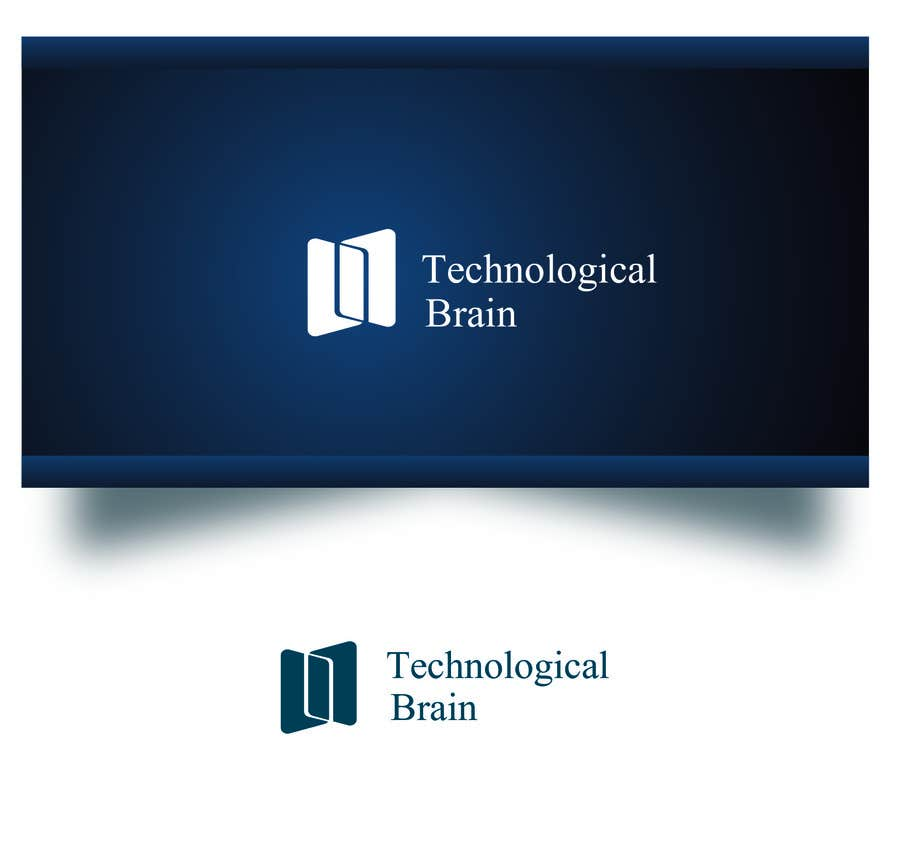 Kilpailutyö #36 kilpailussa Projetar Logo da empresa Technological Brain
