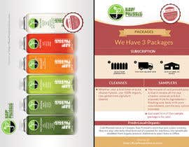 #7 cho Design a Flyer for Cold Pressed Juice bởi wonderart