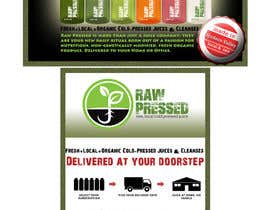 nº 22 pour Design a Flyer for Cold Pressed Juice par SaranyaKrish
