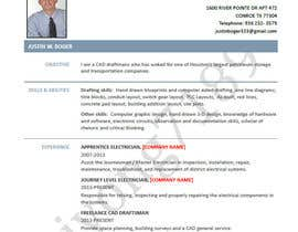 #2 para Design an resume with a drafting theme por aiyong7189
