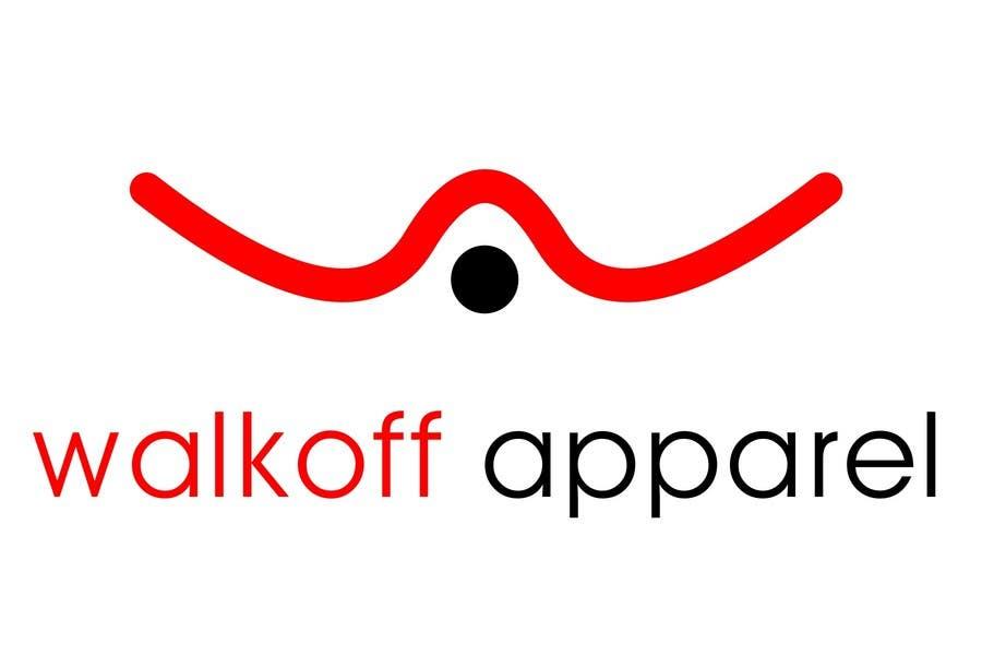 Natečajni vnos #286 za Logo Design for Walkoff Apparel