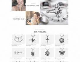 bestwebthemes tarafından Design the fashion jewelry website mockup için no 69