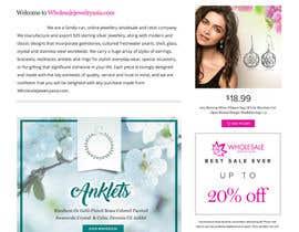 chiqueylim tarafından Design the fashion jewelry website mockup için no 6