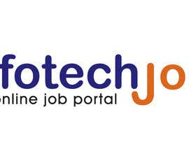 #173 para Logo design for IT Job portal por duttarajesh07