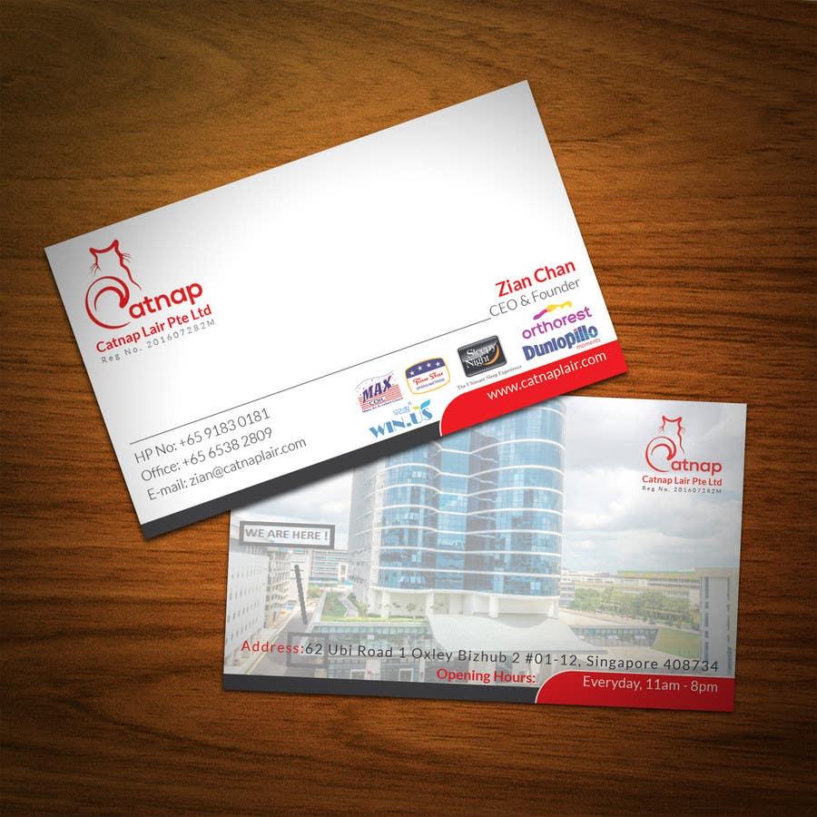 Kilpailutyö #6 kilpailussa Design some Business Cards