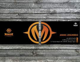 #46 for Design some Business Cards for Maniak Fitness by RERTHUSI