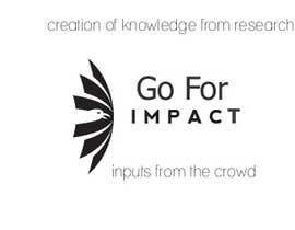 #11 untuk Design a logo for Go for Impact oleh duskperl
