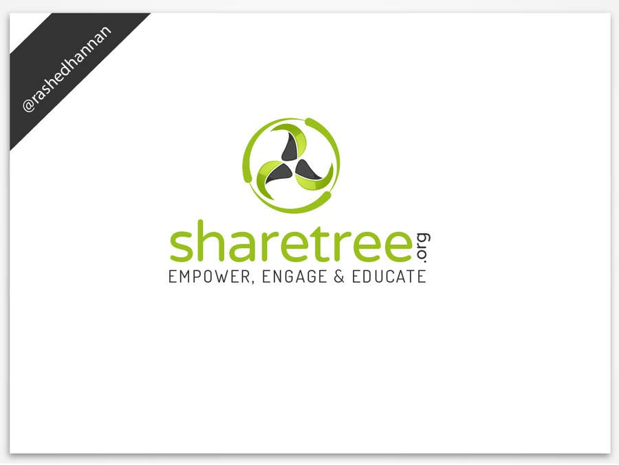 #237 for Design a Logo for ShareTree.org by rashedhannan