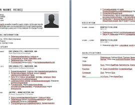 Nro 2 kilpailuun Easy to use - Word template for Resume käyttäjältä kolindozadrima