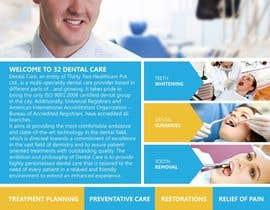 Nro 14 kilpailuun Design a Dental Flyer käyttäjältä meenastudio