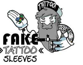 Nro 61 kilpailuun Design a logo/Illustration for tattoo based fancy dress accessory. käyttäjältä anonymoush
