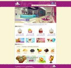 Contest Entry #36 for Yogurt website Home page