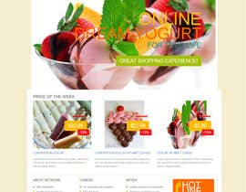 #8 for Yogurt website Home page af karlmc15