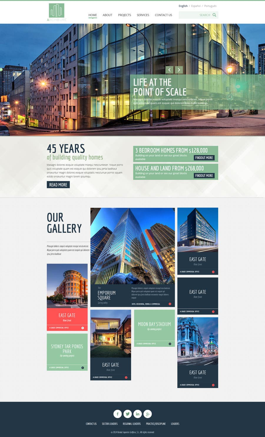 #12 for Design a website for architecture company by alpyraj81