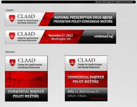 fornaxfx tarafından Banner Ad Design for Center for Lawful Access and Abuse Deterrence (CLAAD) için no 61
