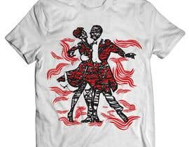 Nro 62 kilpailuun T-shirt Design for Latin Dancers käyttäjältä ratnakar2014
