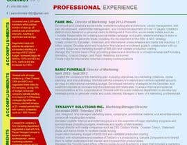 #15 untuk convert my resume to an eye catching graphic resume oleh angelajohnson70