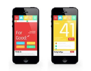 shakthik92 tarafından Design an App Mockup için no 2