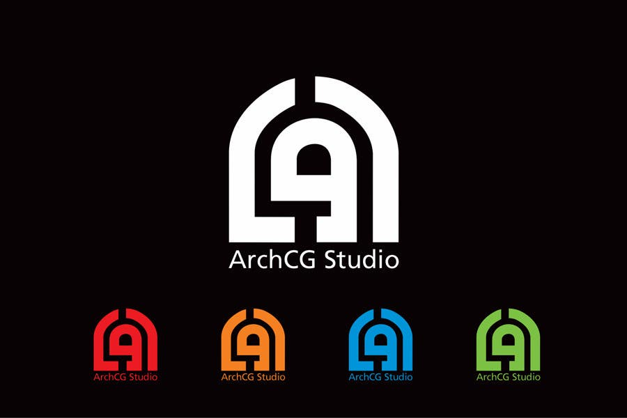 Kilpailutyö #333 kilpailussa Logo Design for ArchCG Studio