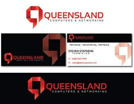 alexandracol tarafından Design a Logo for Queensland Computers & Networking için no 11