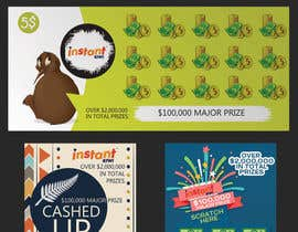 #9 for Design a unique scratch card lottery game. by medjaize