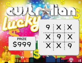 #4 for Design a unique scratch card lottery game. by terstill