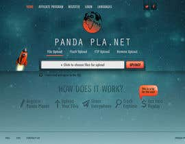 nº 3 pour I need some Graphic Design for Panda Planet par pvprajith