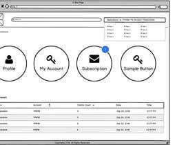Nro 1 kilpailuun Design a Website Mockup - Only 2 screens käyttäjältä designcreativ